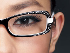 le maquillage avec des lunettes ou des lentilles choisir ses lunettes. Black Bedroom Furniture Sets. Home Design Ideas