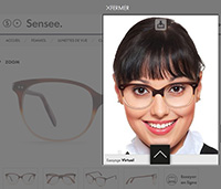 Essayer des lunettes en ligne