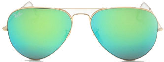 Ray Ban Lunettes miroirs turquoises 2014