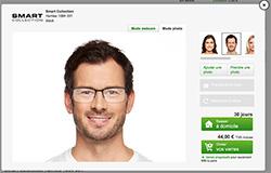 essayer des montures de lunettes en ligne